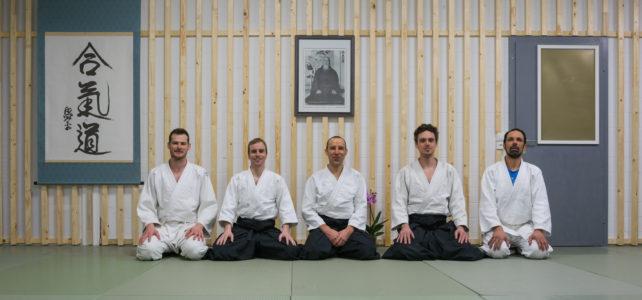 Impressionen vom ersten Training im neu gestalteten Dojo