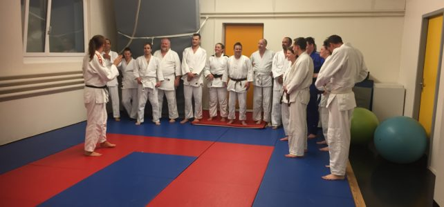 Judotraining in Kaltbrunn