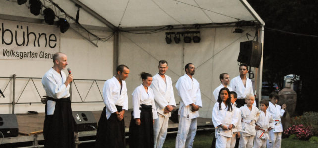 Aikido meets Sommerbühne
